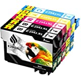 Bigger Compatible Ink Cartridge Replacement for Epson 220 220XL to use with WorkForce WF-2630 WF-2650 WF-2660 WF-2750 WF-2760 Expression Home XP-220 XP-320 XP-324 XP-420 (2 Black,1 Cyan,1 Magenta,1 Yellow) 5 Pack