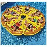 Loopy 浮き輪 ピザ フロート インスタ映え 快速エアバルブ 海遊び 水遊び プールパーティー 夏 用品 大人用浮き輪 子供用浮き輪 強い浮力 可愛い 海水浴 プール 海フロート