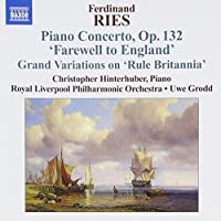 Ries: Piano Concerto, Op. 132 'Farewell to England' by Hinterhuber (2009-03-31)