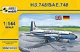 マーク1 1/144 HS.748/BAE.748 民間機 プラモデル MKM144122