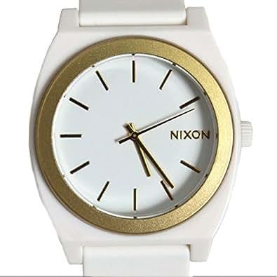 NIXON(ニクソン)腕時計 TIME TELLER P タイムテラー 腕時計 A119-1297 WHITE/GOLD ANO ホワイト/ゴールド