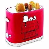 【並行輸入】Smart Planet HDT1S Peanuts スヌーピー Hot Dog Toaster, Red ホットドッグが作れる! ホットドッグトースター