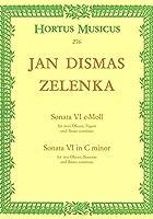 ゼレンカ : ソナタ 第6番 ハ短調 (オーボエ2本、ファゴット、ピアノ) ベーレンライター出版