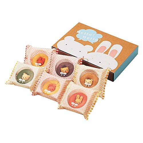 カリーノ ギフト お菓子 アニマル ドーナツ 6個