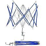簡単仕様 かせくり器 糸巻き 玉巻き 手芸 毛糸 折りたたみ式 【 収納袋 セット 】 ホビー 糸 巻く ほどく K300