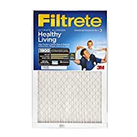 Filtrete MPR 1900 16 x 20 x 1 Healthy Living Ultimate Allergen Reduction AC Furnace Air Filter, Delivers Cleaner Air Throughout Your Home, 4-Pack [並行輸入品]