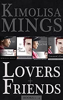 Lovers & Friends, Books 1-4 (BWWM Interracial Romance) by [Mings, Kimolisa]