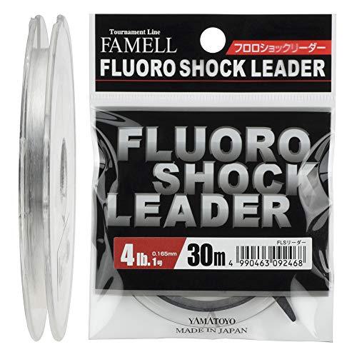 リーダー フロロショックリーダー フロロカーボン 30m 1号 4lb クリア