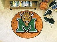 Fanmats Marshall Thundering Herd basketball-shapedマット