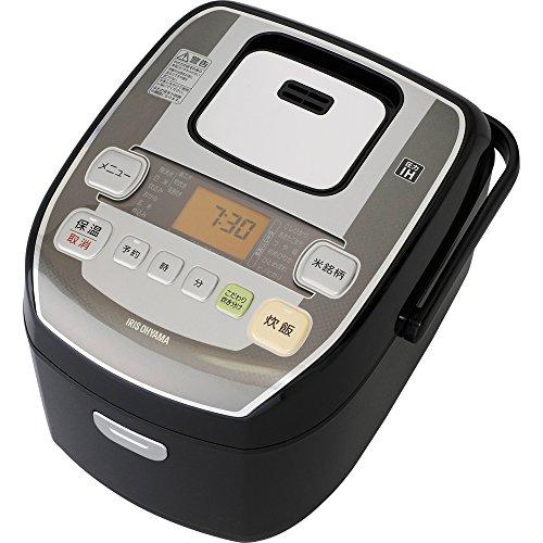 アイリスオーヤマ 炊飯器 圧力IH式 5.5合 銘柄炊き分け機...
