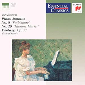 Beethoven;Piano Sons.8,29