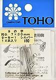 TOHO 9の字ピン 長さ約30mm シルバー 14本入り 9-8-1S