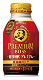 サントリー プレミアムボス 超深煎りプレミアム 260gボトル缶×24本