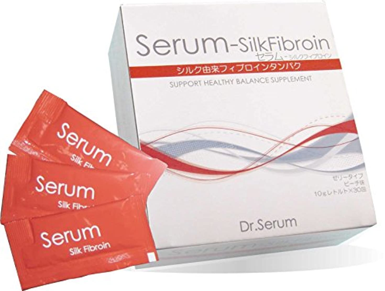 女優すばらしいです免疫【Silk Fibroin】セラム-シルクフィブロイン 10g×30包×3箱セット 特許取得の食べるシルクダイエット