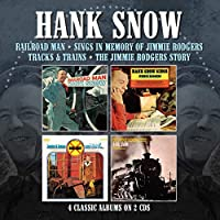 RAILROAD MAN / SINGS IN MEMORY OF JIMMIE RODGERS / TRACKS & TRAINS / THE JIMMIE RODGERS STORY