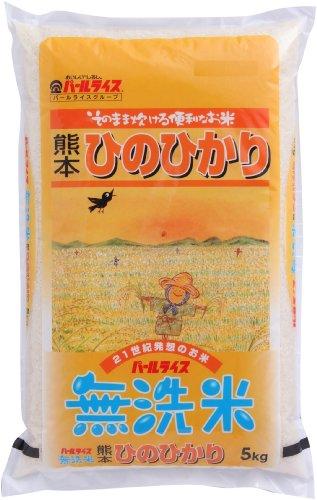 (精米)熊本県産 無洗米 ヒノヒカリ 5kg 平成28年産