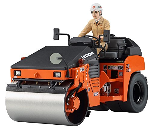Hasegawa 1/35 construction machine series Hitachi construction equipment combined vibration roller ZC 50C-5 plastic WM02