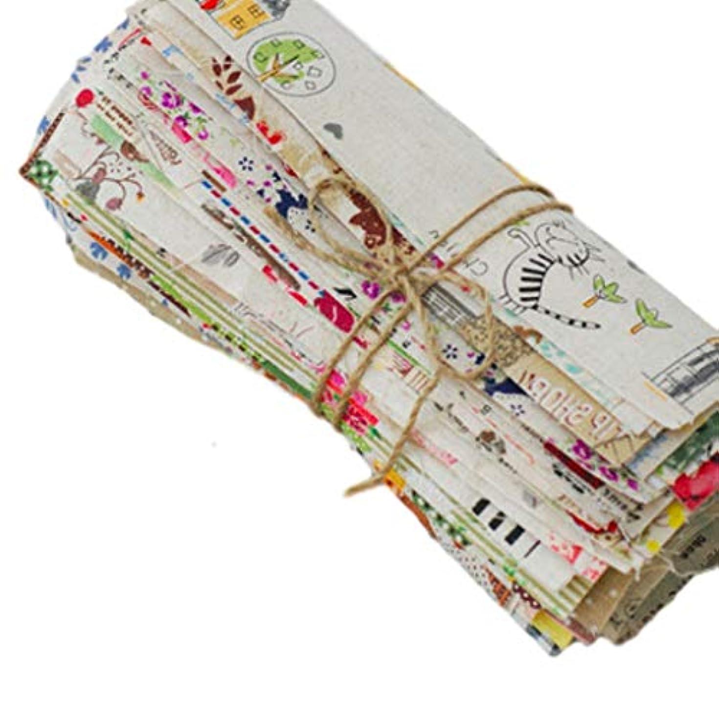 うめき声サーバモジュールSweet+ 手芸用 カットクロス はぎれ 布 生地 パッチワーク DIY 綿麻混 ランダムセット 25*38cm 16枚