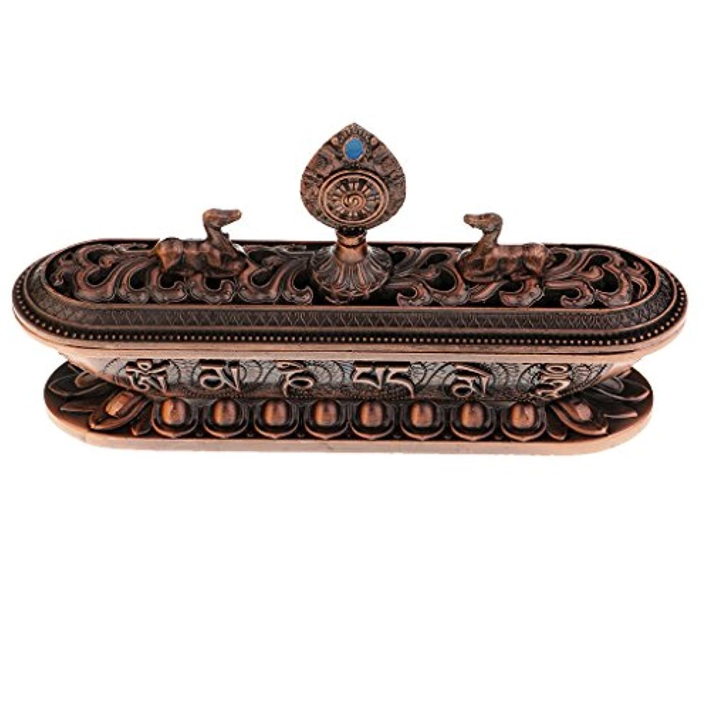 きつくパンチ慢性的Fenteer 仏教香炉バーナー 合金 テーブル ホーム インテリア 仏教用品 ホルダー 香炉 バーナー 合金 6タイプ選べる - #3