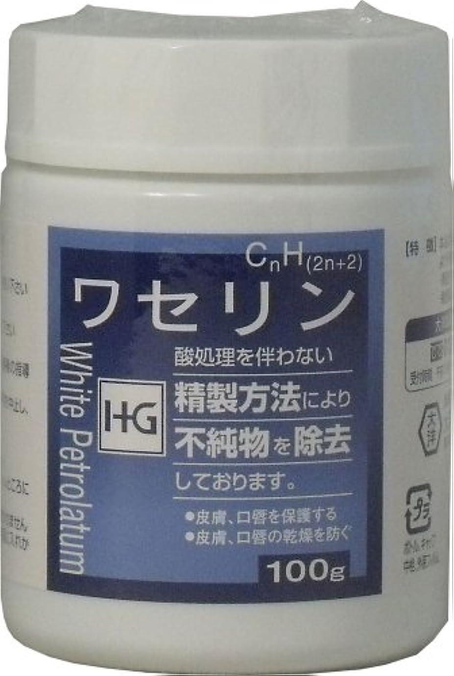 驚きキャンプ形式皮膚保護 ワセリンHG 100g ×10個セット