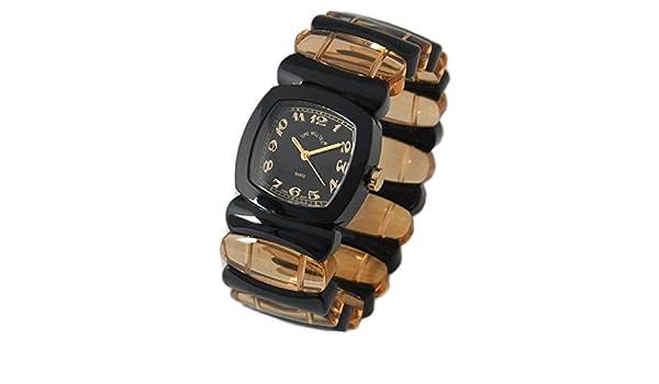 腕時計 Time Will Tell MULTI-BLCRO タイムウィルテル モダン&ヴィンテージ風味のPOPなバングル・ブレス ブラック×キャンディーローズ Multi Colors タイムウイルテル