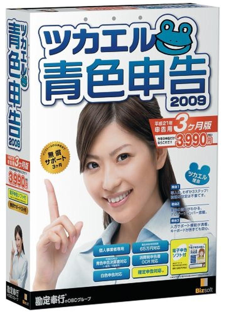 発火するおばあさん所有権ツカエル青色申告 2009 平成21年申告用3ヶ月版