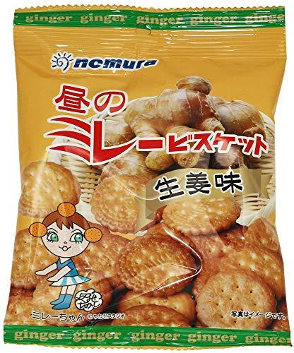 昼のミレービスケット(生姜味) 70g×10袋