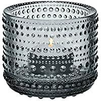 【正規輸入品】 iittala(イッタラ) Kastehelmi votive(カステヘルミ キャンドルホルダー) グレー 64mm
