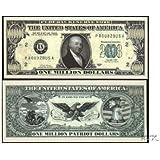 (25) Patriot Million Dollar Bill [並行輸入品]