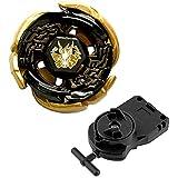 ロット ベスト スポーツ ベイブレード コズミック ペガサス 4D WBBA トップ ラピティ メタル フュージョン ゲーム ベイストリング ランチャー (ブラック) 子供向けギフト おもちゃ