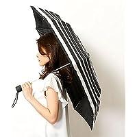 フルトン(FULTON) 雨傘(折りたたみ傘/ミニ傘)【英国王室御用達/雨にぬれると色が変わる】ボーダー(婦人/レディース)