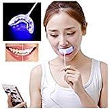 mchoice Dental Whitening Kit歯USB充電Whitening Instrument 2pcs Whitening Gel