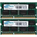 RamMax メモリ 2枚組 DDR2 800 PC6400 2GBX2 RM-SD800-D4GB DUAL 200p…