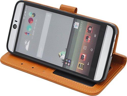 PLATA HTC J butterfly HTV31 ケース 手帳型 カラー レザー ケース ポーチ 手帳 カバー 【 ピンク 桃色 ぴんく pink 】 AHTV31-77PK