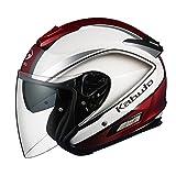 オージーケーカブト(OGK KABUTO)バイクヘルメット ジェット ASAGI CLEGANT (クレガント) パールホワイト (サイズ:XL)