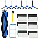 Wigbow Accessories Kit Compatible with eufy RoboVac 11S, RoboVac 30, RoboVac 30C, RoboVac 15C, Accessory Robotic Vacuum 6 Cleaner Filters, 6 Side Brushes, 1 Rolling Brush,1 Primary Fiter