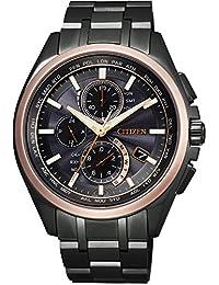 [シチズン]腕時計 ATTESA アテッサ 100周年記念限定モデル エコ・ドライブ電波時計 日中米欧電波受信 AT8046-51E メンズ