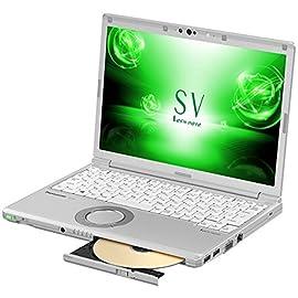 パナソニック 12.1型ノートPC Let's note レッツノート SV シルバー CF-SV7MFRQR [Office付き・Win10 Pro・Core i7]