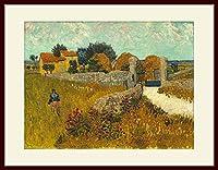 ゴッホ・[Vincent van Gogh] プリキャンバス複製画・ 額付き(デッサン額/大衣サイズ)