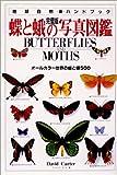 蝶と蛾の写真図鑑―オールカラー世界の蝶と蛾500 完璧版 (地球自然ハンドブック) 画像