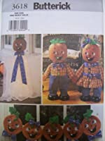 Butterick Craft 3618 Pattern Halloween Decorating Ghost Greeter [並行輸入品]
