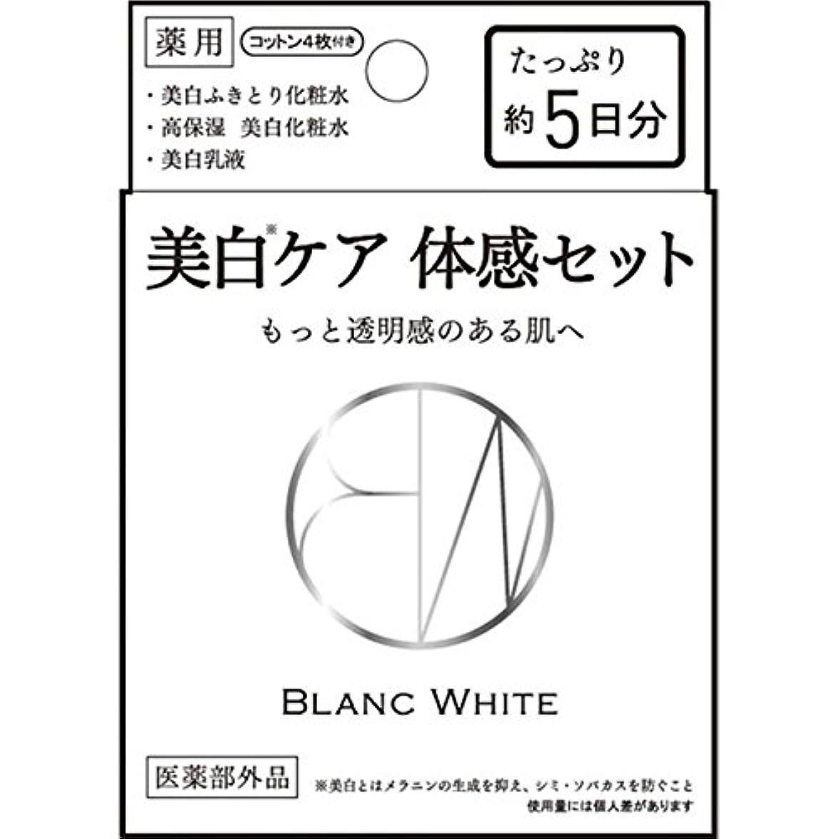 同種の絵かすれたブランホワイト トライアルセット 3種混合セット (医薬部外品)