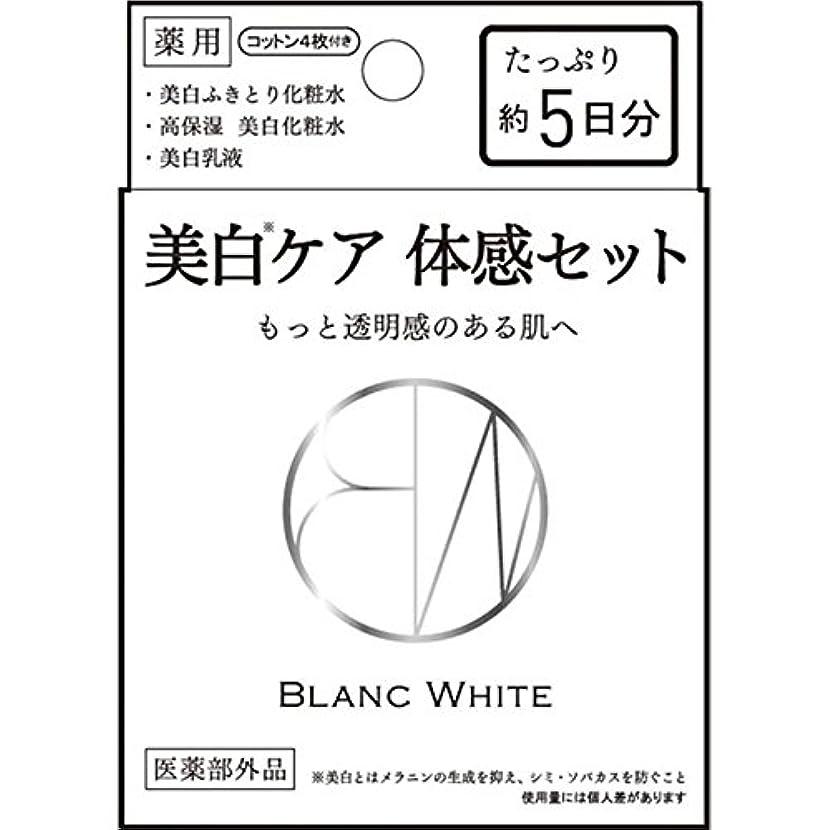 滑りやすいオーディションセイはさておきブランホワイト トライアルセット 3種混合セット (医薬部外品)