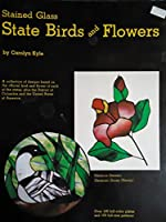 Stained Glass State Birds and Flowers
