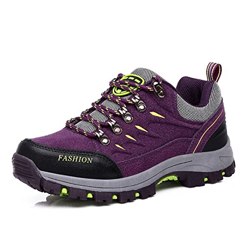 [해외]방수 등산화 트레킹 슈 남녀 겸용 - 미끄럼 방지 트레킹 하이킹 신발 경량 등산 아웃 도어 신발 큰 크기 등산 신발 로우 컷 아웃 도어 운동화/Waterproof climbing shoes Trekking shoe unisex - anti-sports trekking hiking shoes lightweight hik...