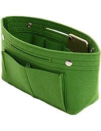 ddice バッグインバッグ フェルト インナーバッグ 軽量 バッグ ポーチ レディース バッグの中を整理整頓 バックインバック