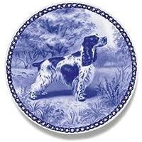 デンマーク製 ドッグ・プレート (犬の絵皿) 直輸入! English Cocker Spaniel / イングリッシュ・コッカー・スパニエル
