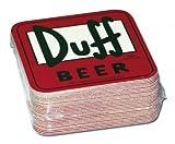 The Simpsons - Merchandise - Duff Beer Logo Coasters (Set of 30 Coasters) by Merchandiseonline [並行輸入品]