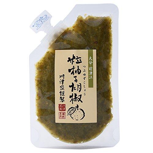 川津食品 川津家謹製 粒柚子胡椒 青 100g