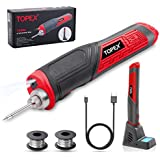 TOPEX 4V Max Cordless Soldering Iron with Rechargeable Lithium-Ion Battery (Soldering Iron)